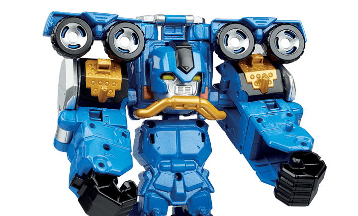 Power Rangers Beast Morphers Dual & Triple Converting Zords
