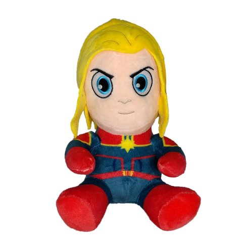 Kidrobot_Marvel_Phunny_Captain_Marvel_8_Inch_Plush_Figure