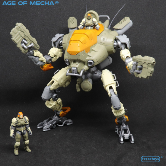 TeccoToys is Creating Original Mecha and Robot Toys