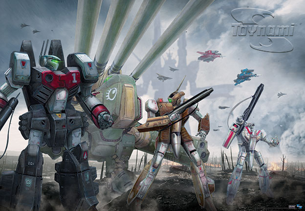 Robotech-Battlefront-Exclusive-Poster