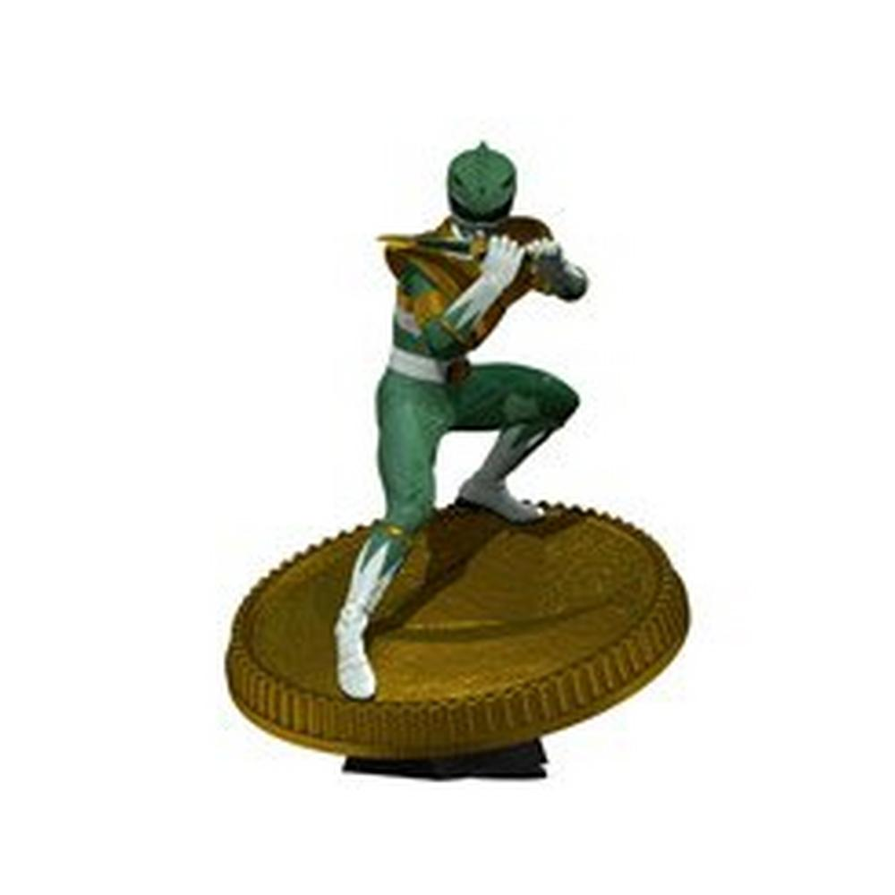Power Rangers Mighty Morphin Green Ranger Statue Figure PIECES mmpr Collectible