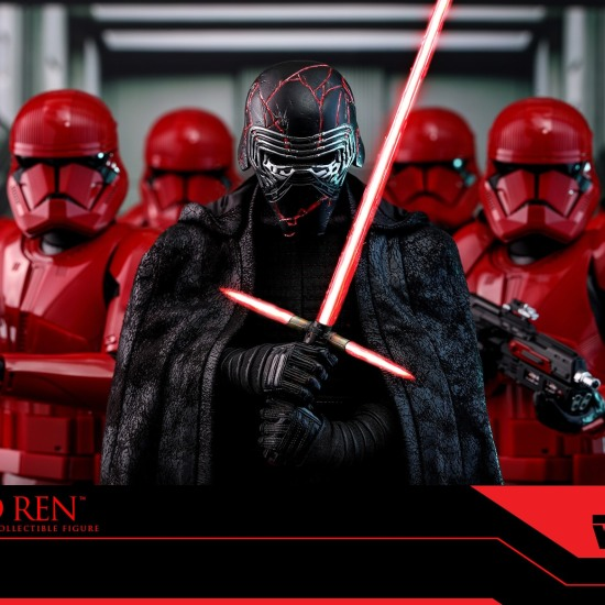 Hot Toys Reveals Star Wars The Rise Of Skywalker Kylo Ren 1 6 Scale Figure
