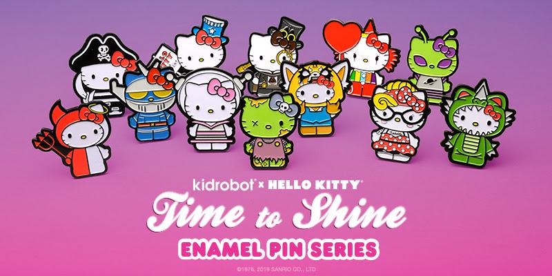 """Kidrobot X Hello Kitty Time To Shine 3/"""" Steampunk Vinyl Mini Toy"""