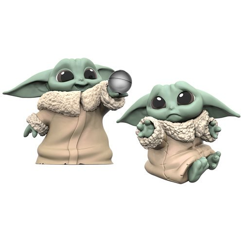 Star Wars The Mandalorian Baby Bounties 2 Pack Child Yoda Frog /& Force IN STOCK