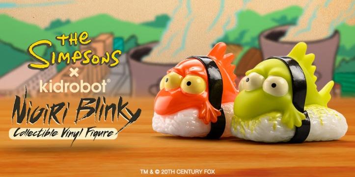 "The Simpsons Nigiri Blinky 3/"" Mini Vinyl Figure"