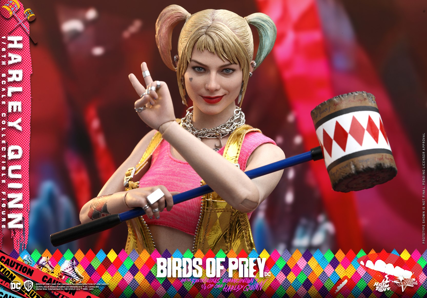 Hot Toys Shows Off Birds Of Prey 1 6th Scale Harley Quinn Collectible Figure