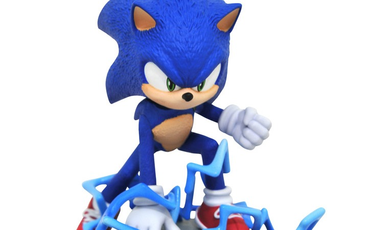 Diamond Select Toys Shows Off Sonic The Hedgehog Movie Statue