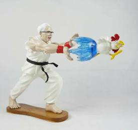 EPIC-HADOUKEN-by-HANH-x-HEART-LAB-The-Toy-Chronicle-2020-KFC-Street-fighter-toy-resin-