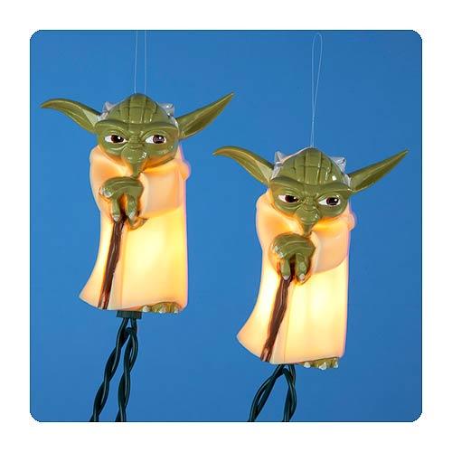 Lights Yoda