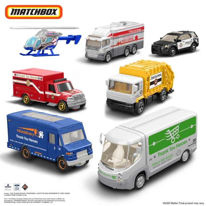 Matchbox Vehicle Set 1