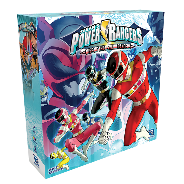 Rise of the Psycho Rangers box