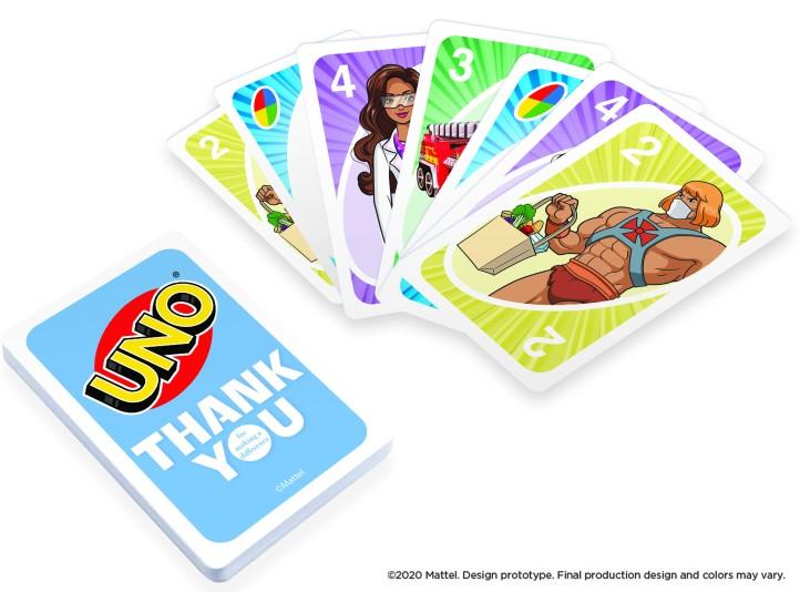 UNO Card Fan