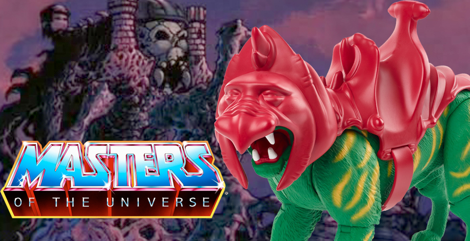 Rétro Mattel jouer les maîtres de l/'univers Masters of the Universe Battle Cat Walmart Exclusive 2020