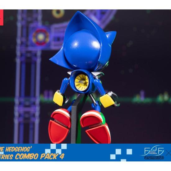 First 4 Figures Reveals Sonic The Hedgehog Boom8 Vol 7 Metal Sonic And Eggman Statues