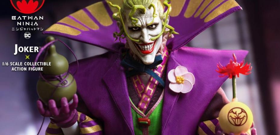 Star Ace Reveals Batman Ninja Lord Joker 1 6 Scale Figure