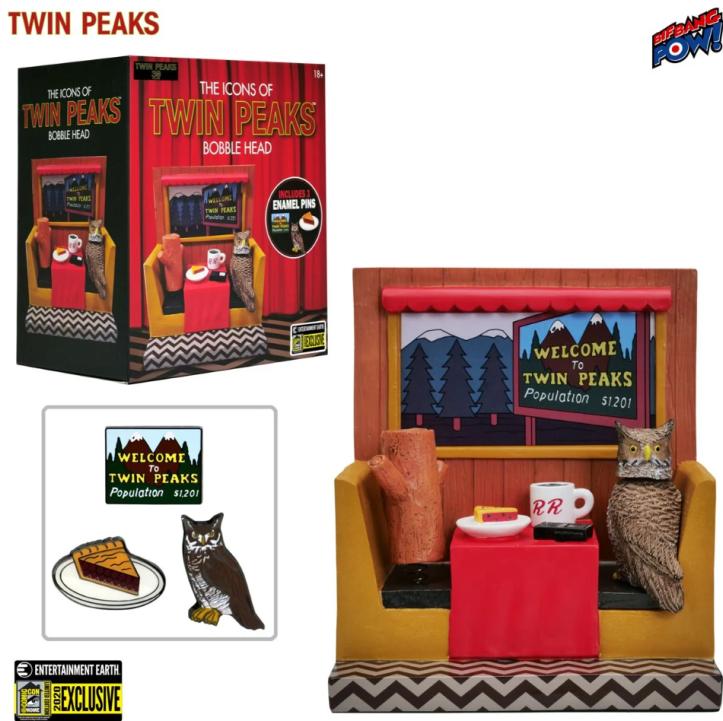 EE Twin Peaks Bobble Head