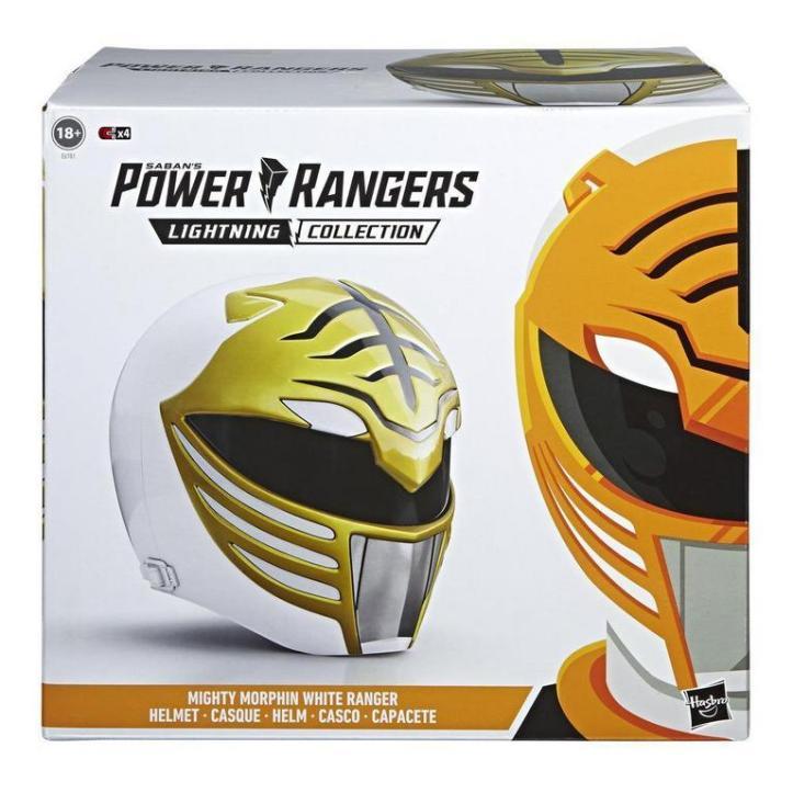 Mighty-Morphin-Power-Rangers-Lightning-Collection-White-Ranger-Helmet