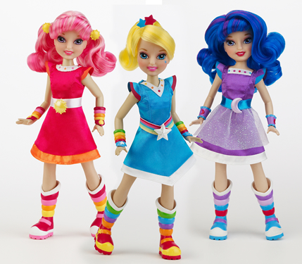 New Rainbow brite dolls